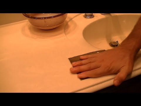 Restoring Cultured Marble Countertops | Polish Out Scratches Yourself