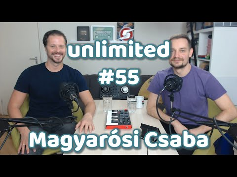 Magyarósi Csaba #vlog | Unlimited #55