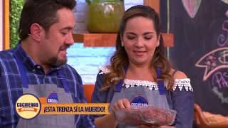 Receta: Pastel de carne con trenza de tocino | Cocineros Mexicanos