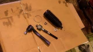 Замена рулевых наконечников и рулевых тяг (усов) на автомобиле SsangYong Rexton