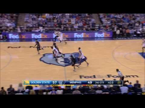 Draymond Green steal and dunk against Marc Gasol