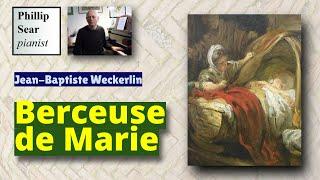 Jean-Baptiste Weckerlin : Berceuse de Marie