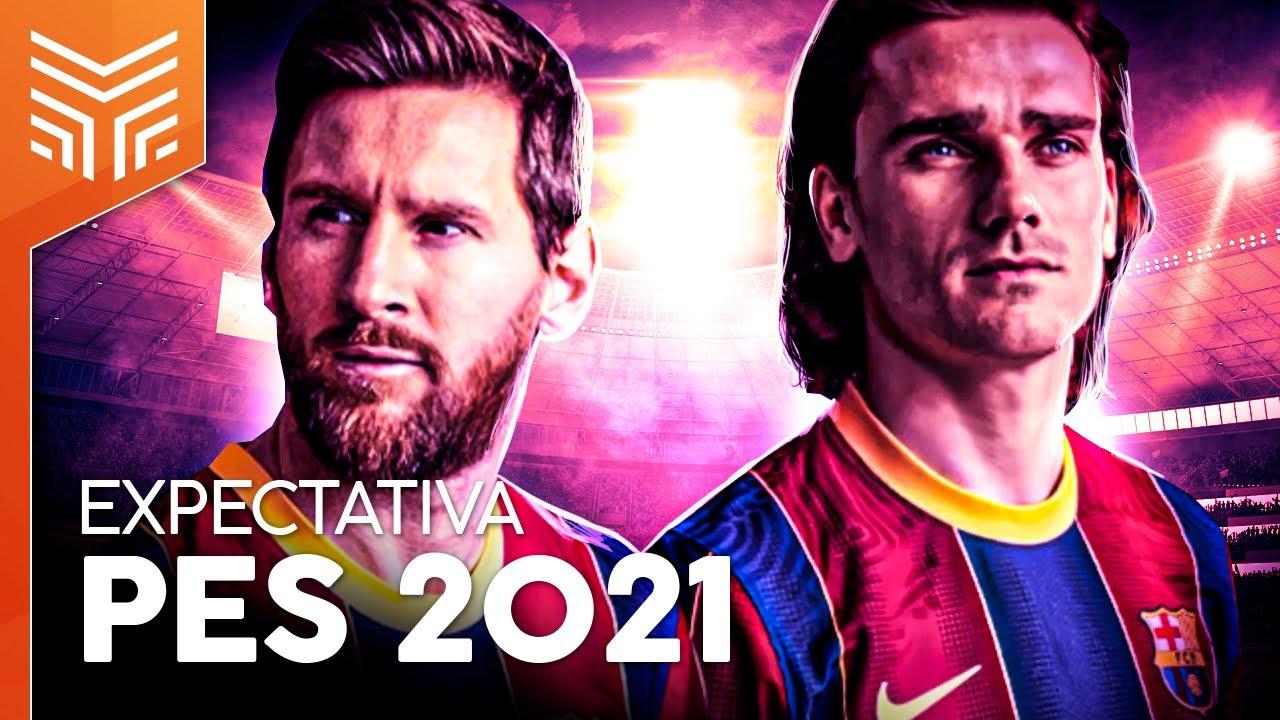 PES 2021: SEASON UPDATE E NOVA GERAÇÃO