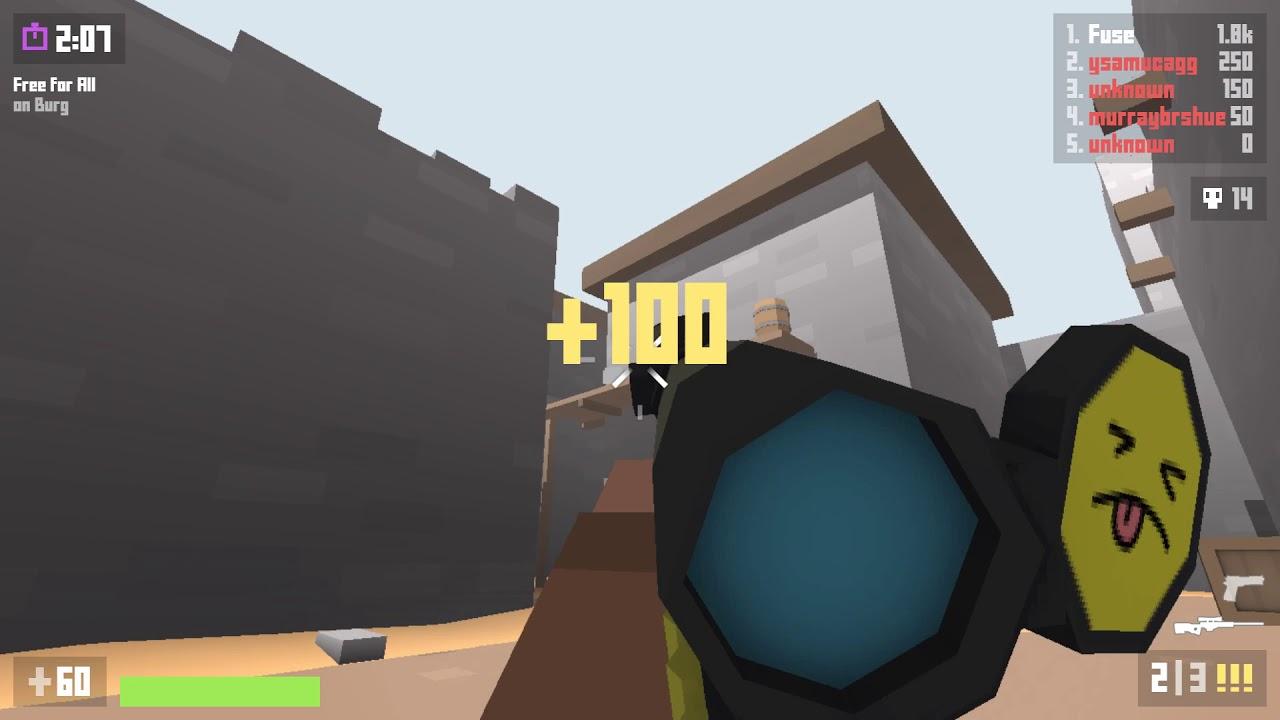 krunker io - sniper gameplay