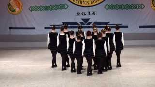 Senior Ladies Figure Dance Mainland Europe Oireachtas Cracow 2013