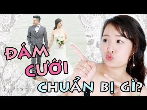 NHỮNG ĐIỀU CẦN CHUẨN BỊ CHO ĐÁM CƯỚI - Wedding Planning | Ngọc Bube