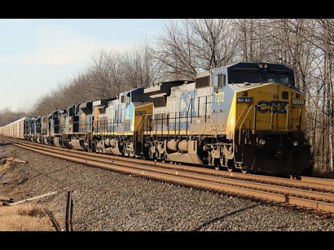 Trains on the CSX Rochester Sub November 2015