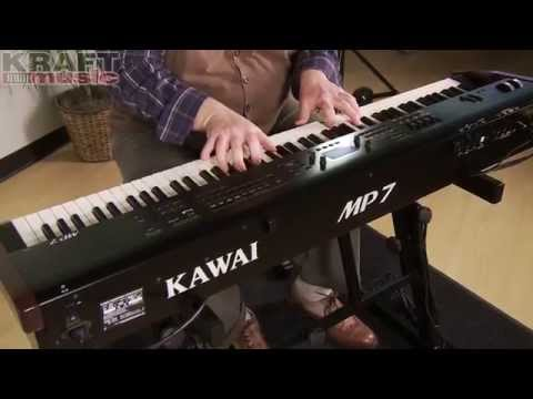 Kraft Music - Kawai MP7 Digital Stage Piano Demo