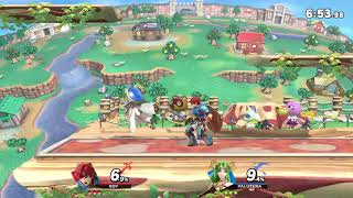 MasonEliwood (Roy) vs. Palutena - Online Battle Arenas (Public) Super Smash Bros. Ultimate/ SSBU