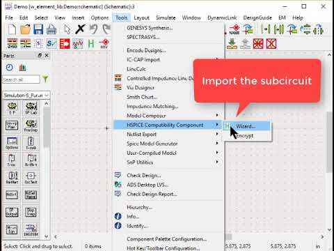 How to Import W-Element Table Model into ADS