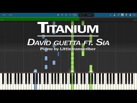 David Guetta - Titanium (Piano Cover) ft Sia by LittleTranscriber