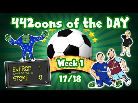 Rooney Goal! Cahill Red! Pep's Clothes! Liverpool's Defence! (Parody goals and highlights 17/18)