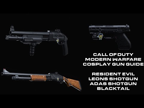 Call of Duty Modern Warfare Cosplay Gun Guide: Resident Evil 4 pack