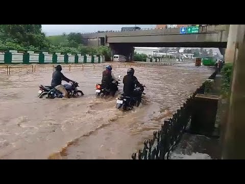 Rain in Bangalore, Electronic city flood