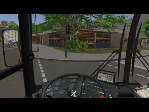 Omsi Bus Simulator 2014 маршрут 74 Eastern District   Sumputuous Estate