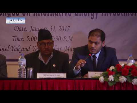 Round Table Meeting on Alternative Energy Investment in Nepal @ Yak N Yeti