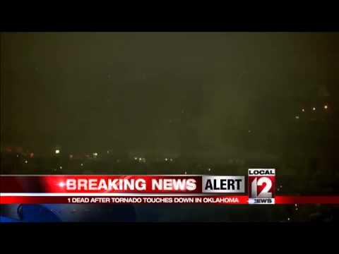 One person killed when tornadoes hit Oklahoma, Arkansas