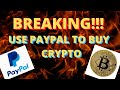 BREAKING!!! PAYPAL INTEGRATES WITH BITFLYER CRYPTO ...