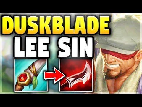 DUSKBLADE LEE IS NOW META | SEASON 8 GRIND #3 - League of Legends