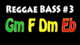 Reggae Backing Track for Bass #3 [Suggestions are welcome!]