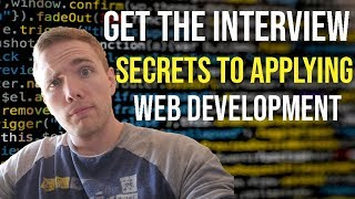 SECRETS to getting the job - Web Development (THIS COMPANY HIRES CODE BOOTCAMP GRADS)