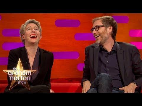 Stephen Merchant & Tamsin Greig Swap Vomit Stories  The Graham Norton