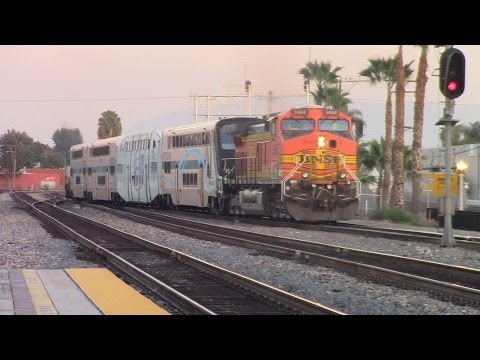 Thumbnail: 1-29-16!! Railfaning Fullerton and Tustin featuring GECX 2037 , H2 GP60M,and a Two dash 9 consist
