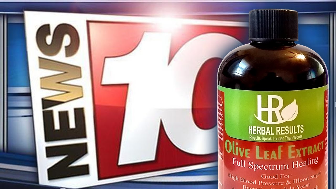 OLIVE LEAF EXTRACT FEATURED ON CHANNEL 10 NEWS! - YouTube