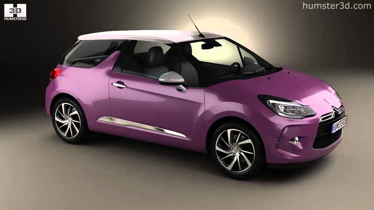 2015 Citroen DS3 gains new lighting - YouTube