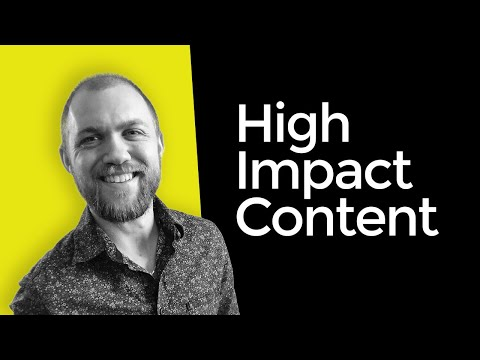 Creating High Impact Content That Rises Above The Digital Noise