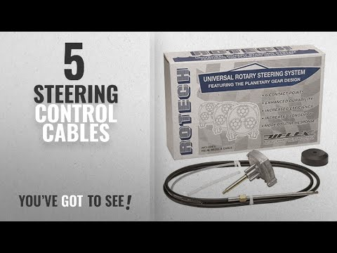 Top 10 Steering Control Cables [2018]: Uflex 216-ROTECH11FC Universal Rotary Steering System