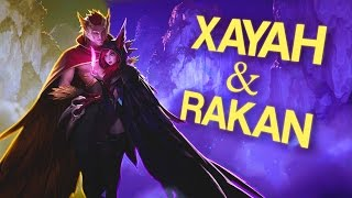 Repeat youtube video Instalok - Xayah and Rakan ft Sarah Lee (Miike Snow - Genghis Khan PARODY)