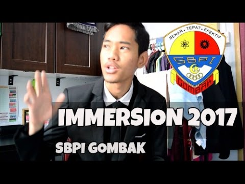 Vlog - IMMERSION 2017 | SBPI GOMBAK