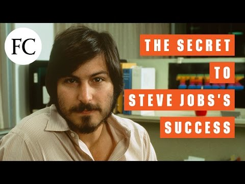 STEVE JOBS'S BIGGEST TALENT WASN'T WHAT YOU THINK IT IS
