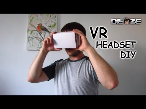How to make VR headset at home | using household items