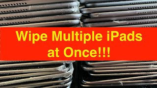Wipe Multiple iPads or iPhones at Once on the Same Computer Using Apple Configurator 2 Utility