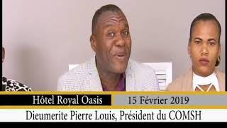 Gadel Janl Ye 15 fevrier 2019 / Proposition du president du COMSHI Dieumerite Pierre Louis