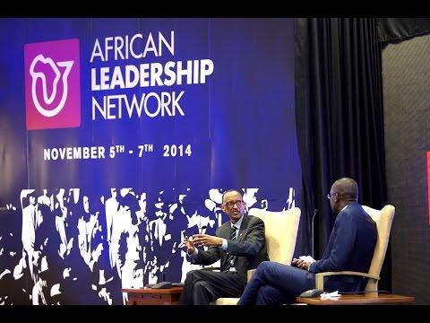 President Kagame addressing over 300 youth from across Africa- Kigali, 7 November 2014 (Part1/2)