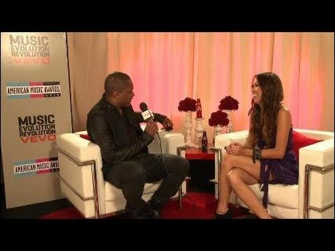 AMA 2010 Backstage Interview with Taio Cruz part01