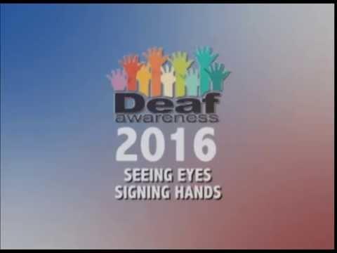 Seeing Eyes Signing Hands