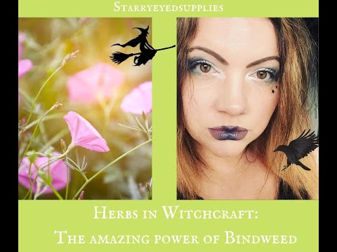 I can't Witch without... Bindweed