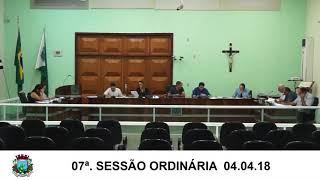 Sessão da câmara 04.04.18