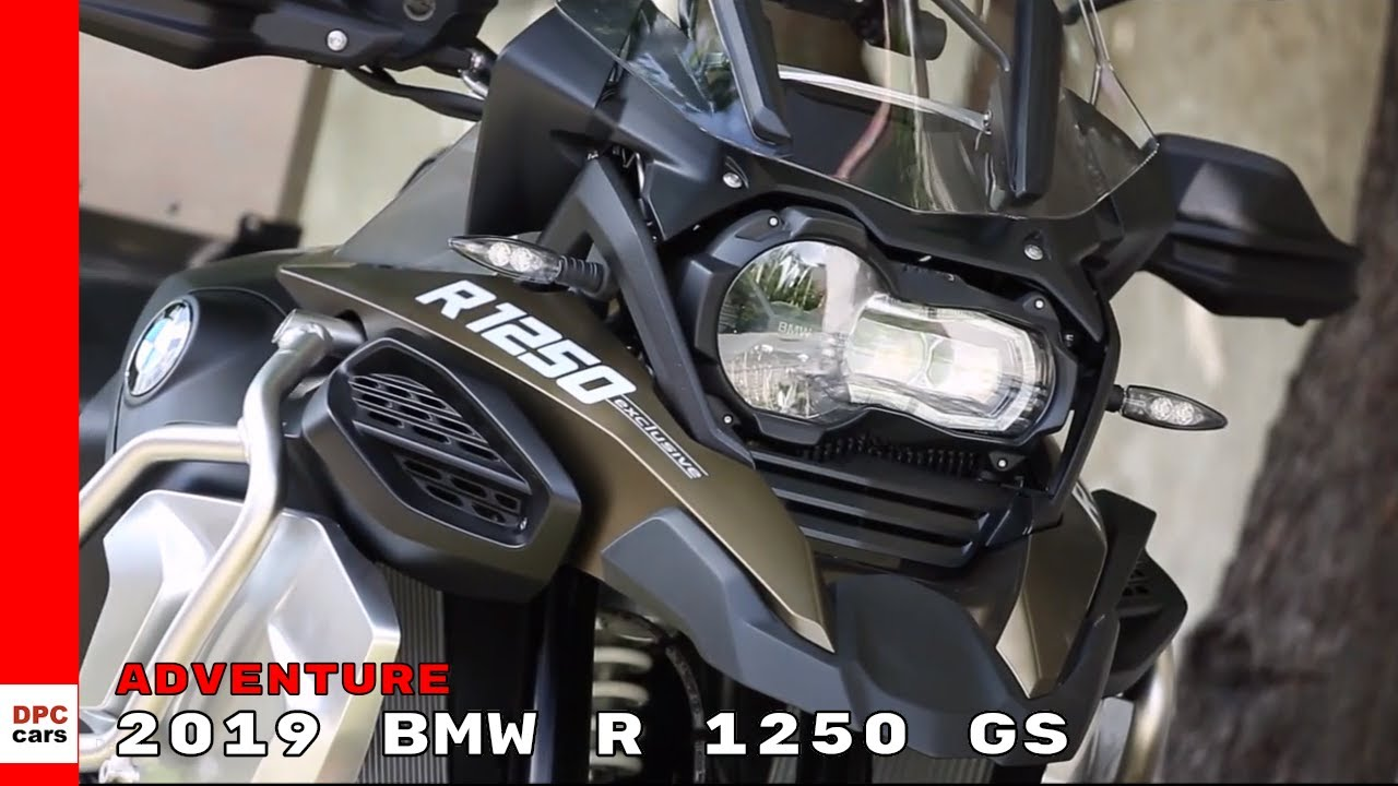 2019 Bmw R 1250 Gs Adventure Youtube