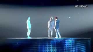 JYJ - レイニー ブルー (Rainy Blue) LIVE [romaji / kanji / eng sub]