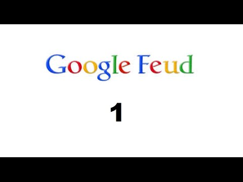 Google feud | I can't get a single on right!