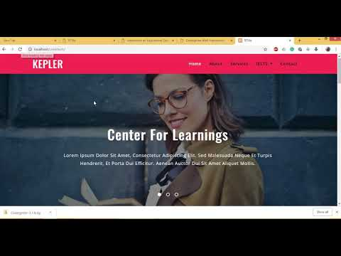 Templating - Convert Any Html Css Page To PHP Codeigniter