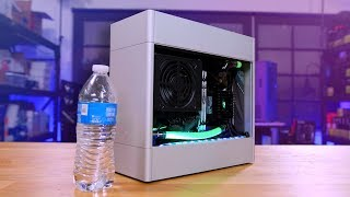 The smallest watercooled PC I
