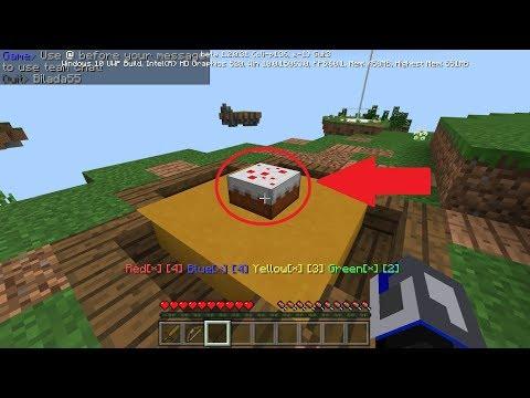 Minecraft - Mineplex Cake Wars #1 - THE NEW BED WARS!!!