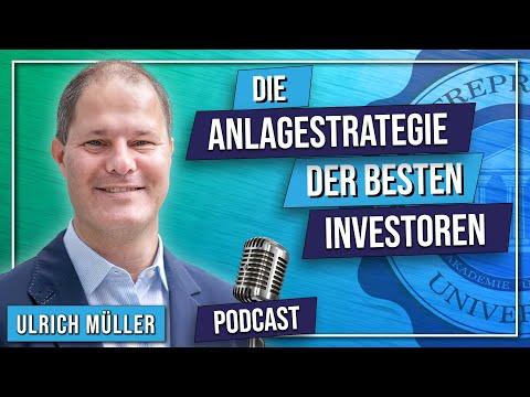 Podcast #107 - Die Anlagestrategien der besten Investoren! - Ulrich Müller