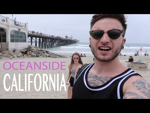 A British guy in Oceanside California